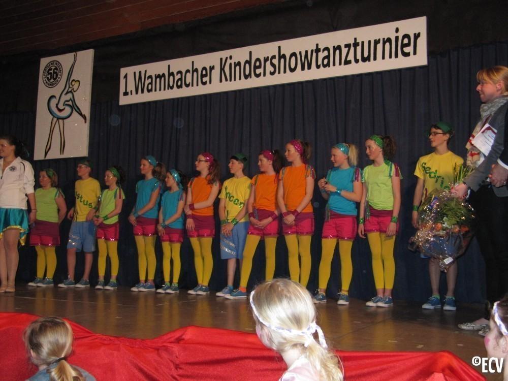 Kindershowtanzturnier Wambach 2013