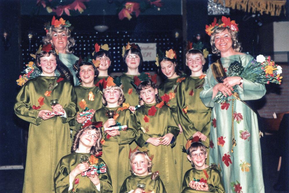 Die Kindergruppe des ECV 1981