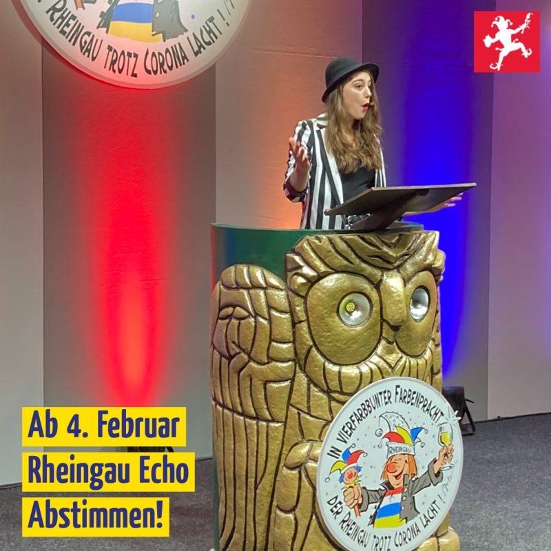 Ab 4. Februar, Rheingau Echo, Abstimmen!